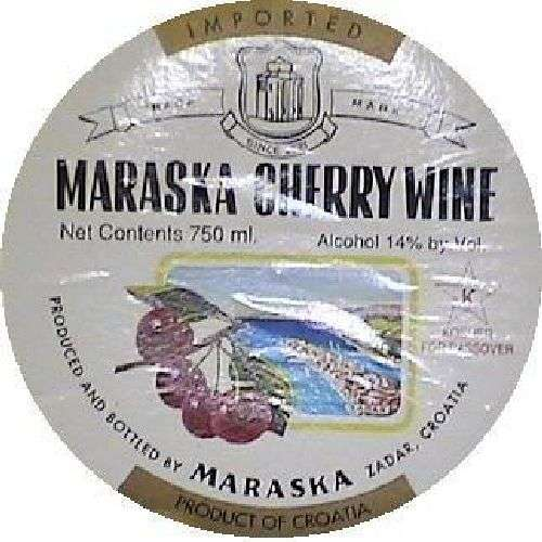 Maraska Kosher Cherry Wine