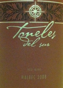 Toneles Del Sur Malbec Red Wine 750ml