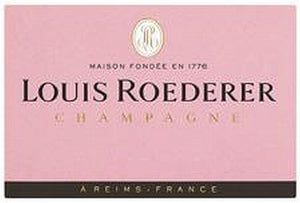 Louis Roederer Rose Champagne 750ml