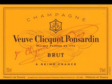 Load image into Gallery viewer, Veuve Clicquot Ponsardin Brut Champagne 750ml