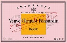 Load image into Gallery viewer, Veuve Clicquot Ponsardin Rose Champagne 750ml