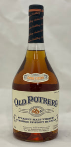 Old Potrero Straight Malt Whiskey Finished in Stout Barrels 750ml
