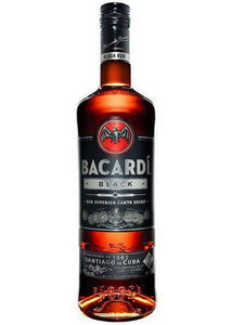 Bacardi Black Rum 750ML