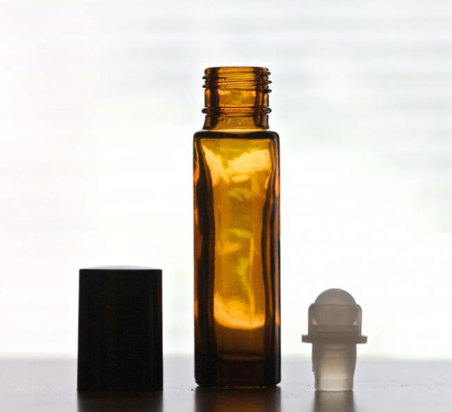 Glass Rollerball 10 ml - Essential Oil Accessory