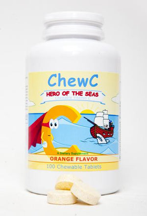 ChewC™- Hero of the Sea - Orange Flavor- 100 Chewable Tablets