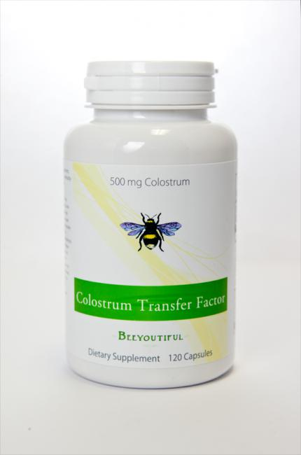 Colostrum Transfer Factor - 120 Capsules