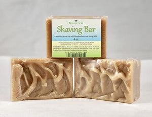 Beeyoutiul Shaving Bar - 4oz bar