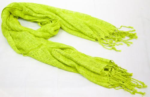Chartreuse Silk Scarf