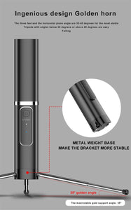 [Premium] 3 in 1 Wireless Bluetooth Selfie Stick