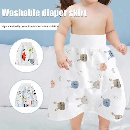 [BUY 1 TAKE 1 FREE] Comfy Children's Diaper Skirt Shorts 2-IN-1