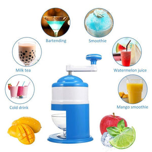 Portable Ice Crusher Dessert Maker [FREE Shipping]