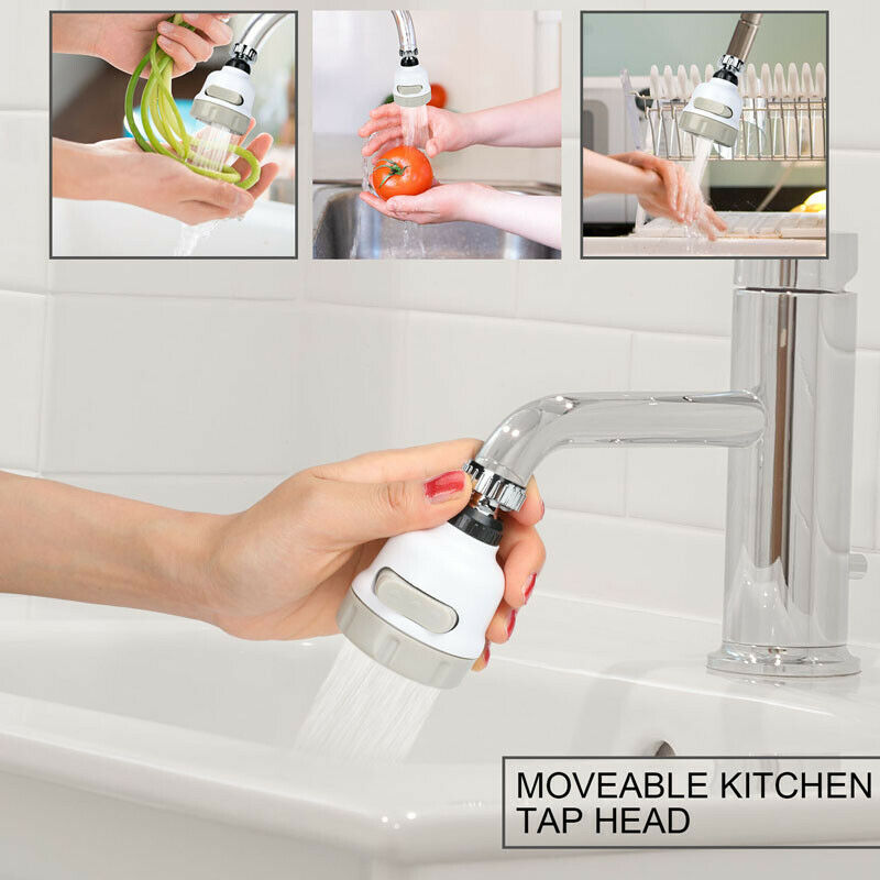 SUPER WATER SAVING PRESSURIZED KITCHEN TAP 360° ROTATE [BUY 1 TAKE 1 FREE]