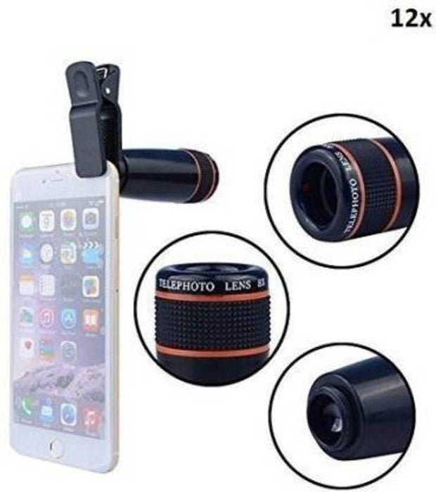 Mobile Adjustable Focus HD Pictures Telescope Lens
