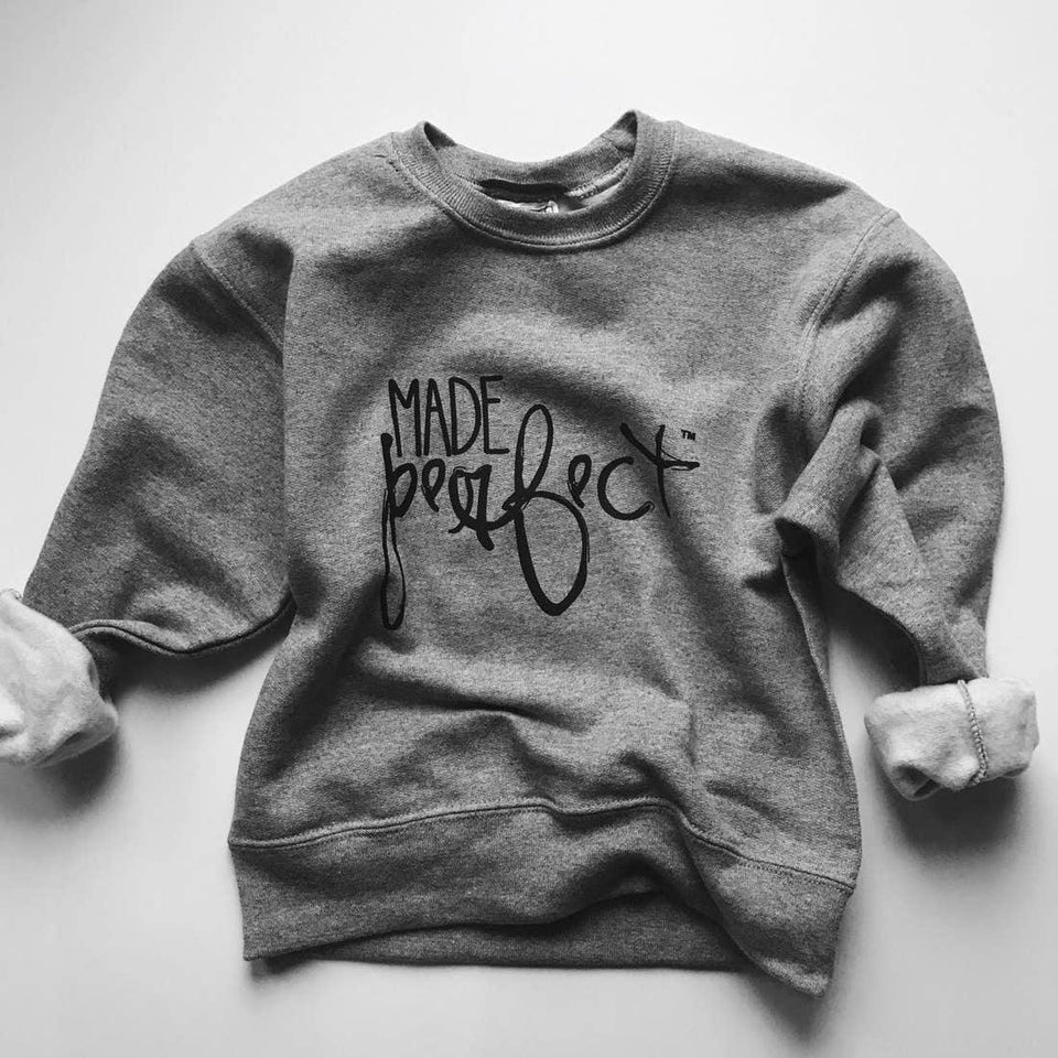 Made Perfect Sweatshirt kids sweatshirt Know Purpose