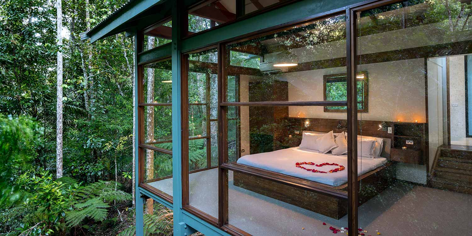 Crystal Creek Rainforest Retreat a luxury couples romantic accommodation option for guests of The Bower Estate