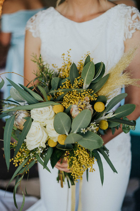 wattle australiabn native bouquet