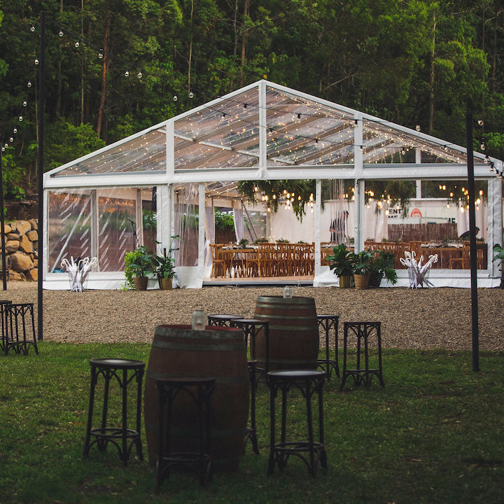 Fig Tree + Clear Marquee