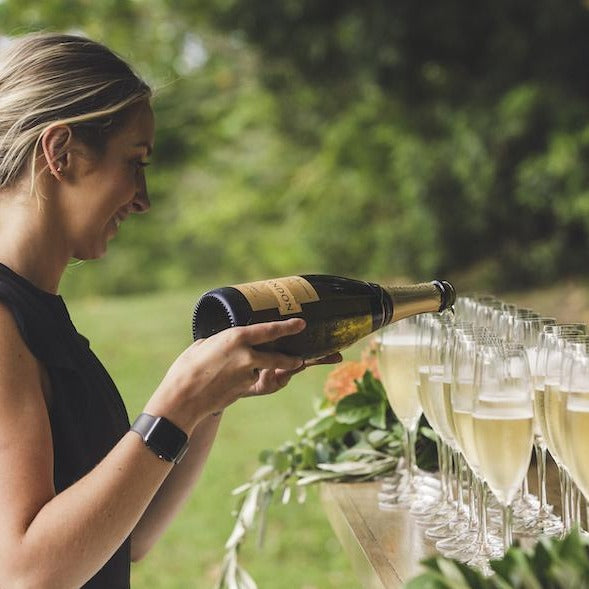 On site staff and caterers making your mid-week wedding a celebration