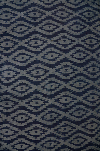 Blue Cotton Sanganer Hand Block Print Fabric
