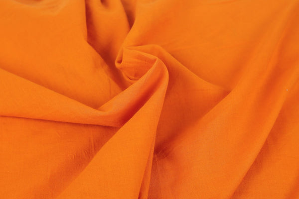 Alloy Orange Cotton Fabric - GleamBerry