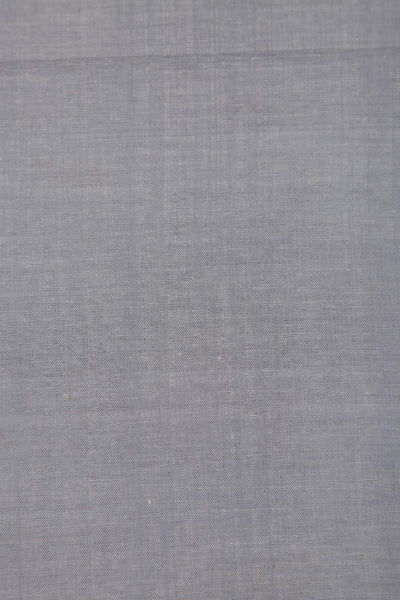 Light Blue Stripes Handloom Mangalgiri cotton fabric - GleamBerry
