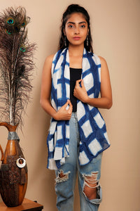 Shibori  Cotton Stole