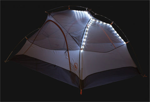 big agnes has lights built in to the tent