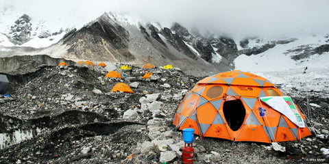 some tents can hold up at mt. everest