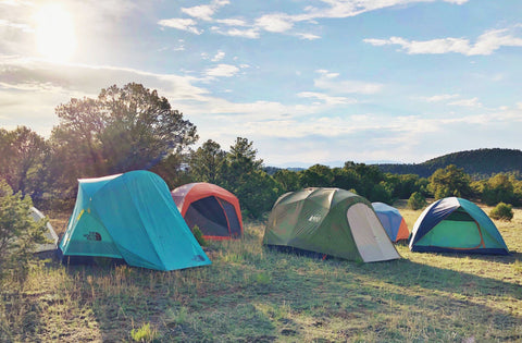 look a variety of tent styles in person if you can