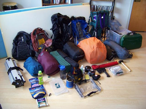 unpack from your trip first thing when you return