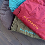 Maroon Dog Sleeping Bag - Wilderdog