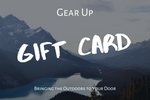 Basic Camping Package - Gift Card