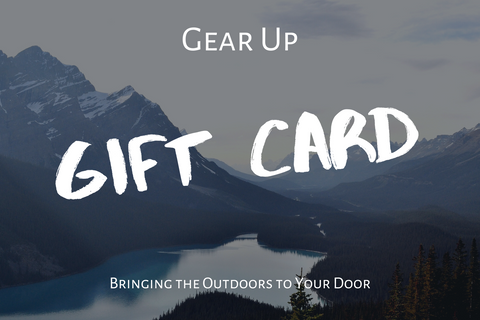 Backyard Camping Package - Gift Card