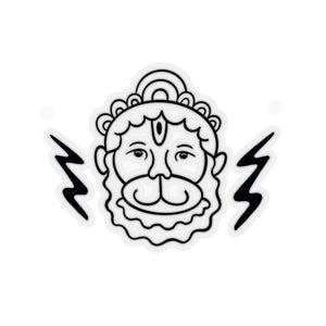 Hanuman Lightening Bolt Sticker