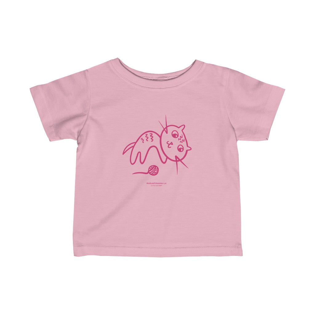 "Spring ""Makarasana-la"", Little Cat, Tee"