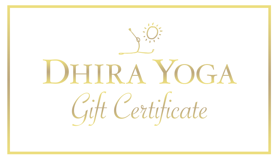 Dhira Yoga Shop Gift Card