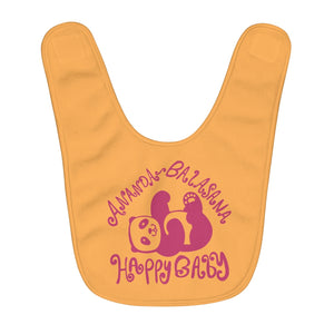 Happy Baby Bib Creamsicle