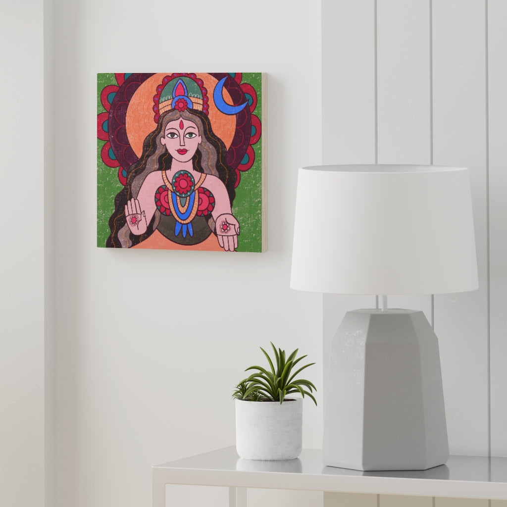 Parvati Wood Canvas