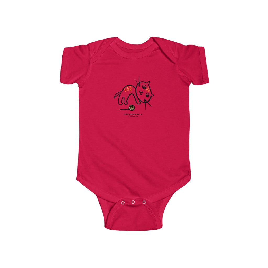 Dhira Infant Onesie Little Cat (Marjaryasana-La)