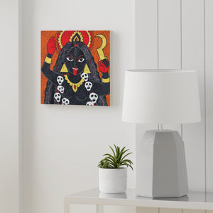 """Kali"" Wood Canvas"