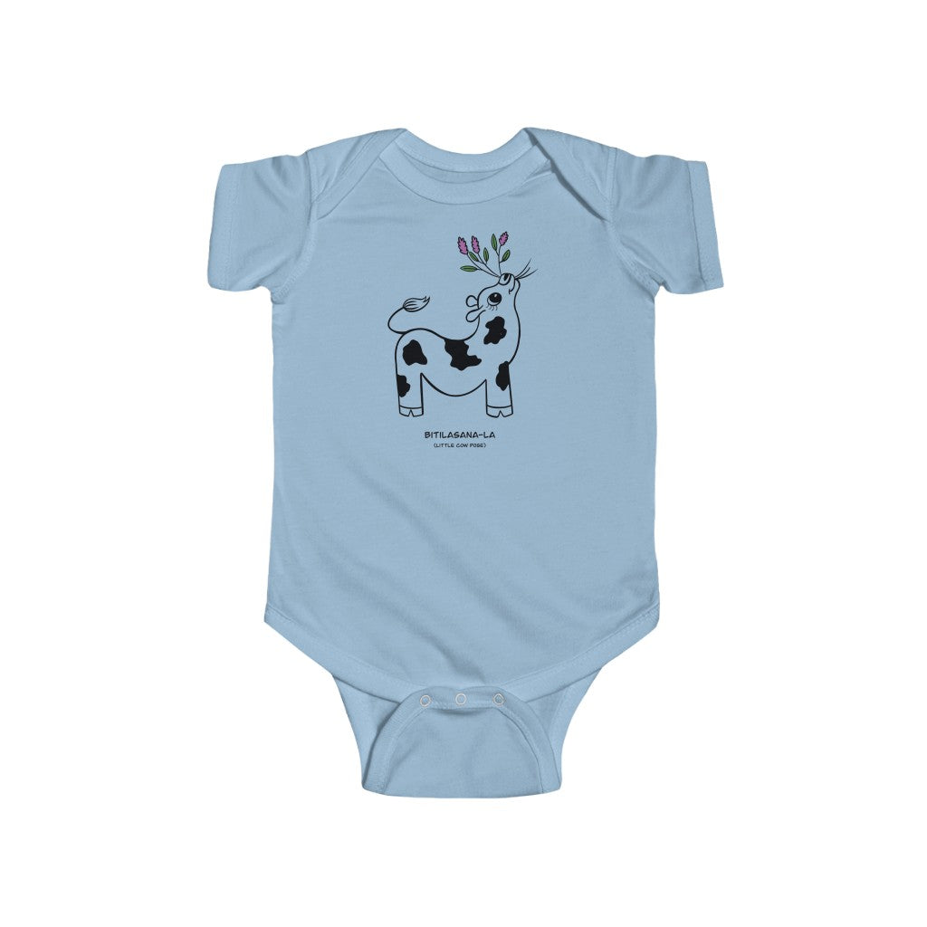 "Dhira Infant Onesie Little Cow (""Bitilasana-la"")"