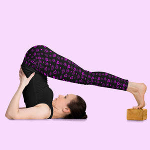 Prema Padma Purple Leggings