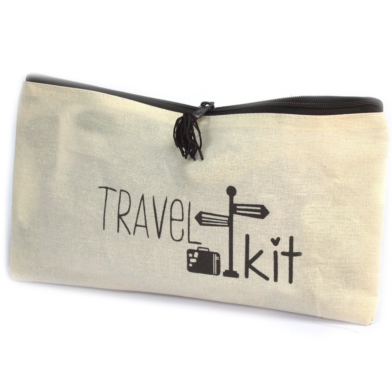 Travel Kit Zipped Pouch - 28x16cm