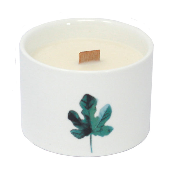 Botanical Candles - Large - Marsh Viola