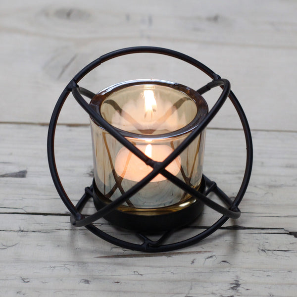 Iron Votive Candle Holder - Single Cup