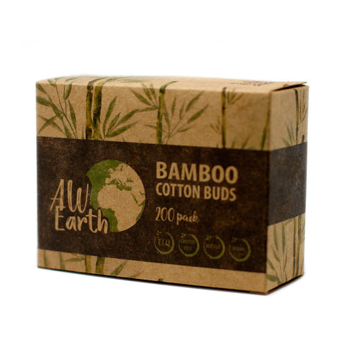 Bamboo Cotton Buds - Pack of 200