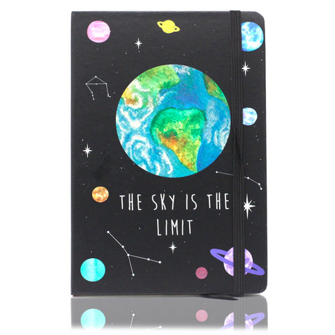 A5 Notebook - The Sky Is The Limit