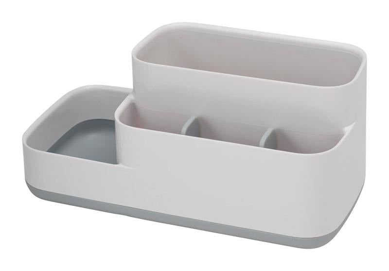 Joseph Joseph  EasyStore  Caddy/Razor/Toothbrush Holder  4-3/4 in. H x