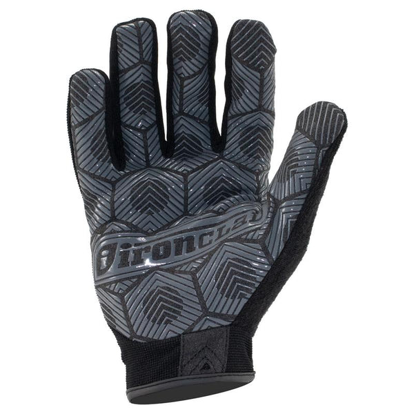 Ironclad  Command Grip  L  Silicone and Neoprene  Black  Grip Gloves