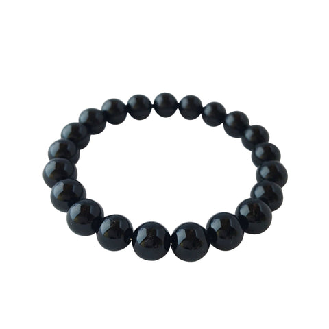 4mm Black Tourmaline Bracelet